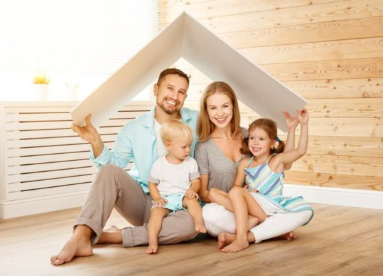 家庭を築く